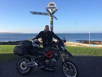 Bike at John o' Groats