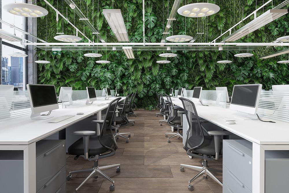 Inrichten van uw kantoorruimte