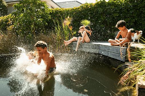 Zwemvijvers - waterpret