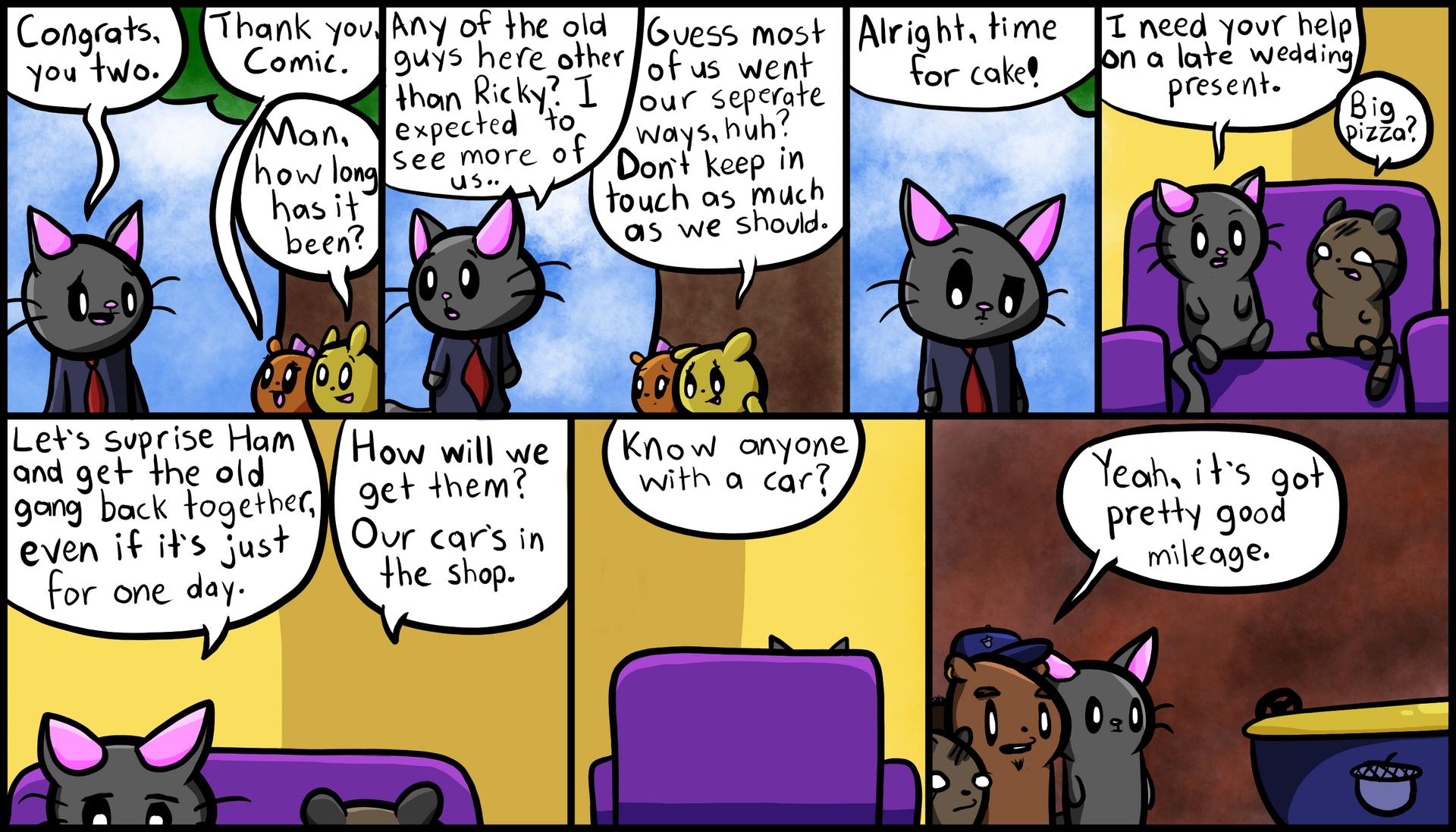 Comic's Plan