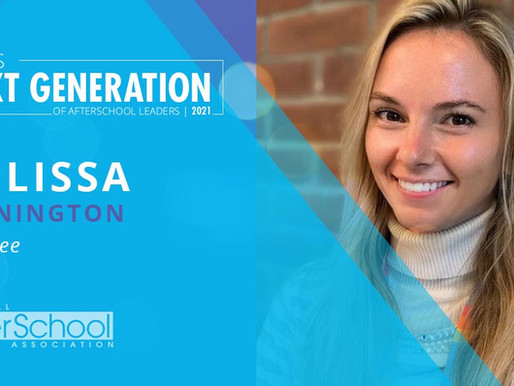 SHCC Associate Director Honored as one of NAA's 2021 Next Generation of Afterschool Leaders
