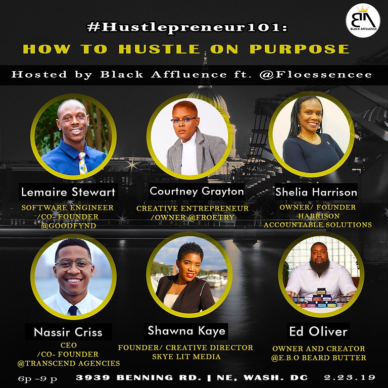 Hustlepreneur 101: How to Hustle On Purpose
