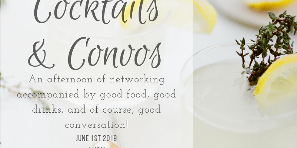 Cocktails & Convos (password: COCKTAILS19)