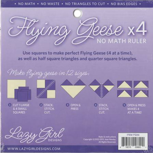 Flying Geese X4