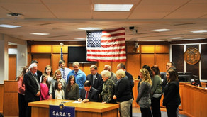 Sara's Law Signed at Marathon County Courthouse