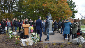 Memorial Unveiled for victims of March 22, 2017 tragedy