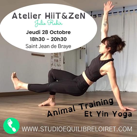 ATELIER HiiT&ZeN - Animal Training et Yin Yoga