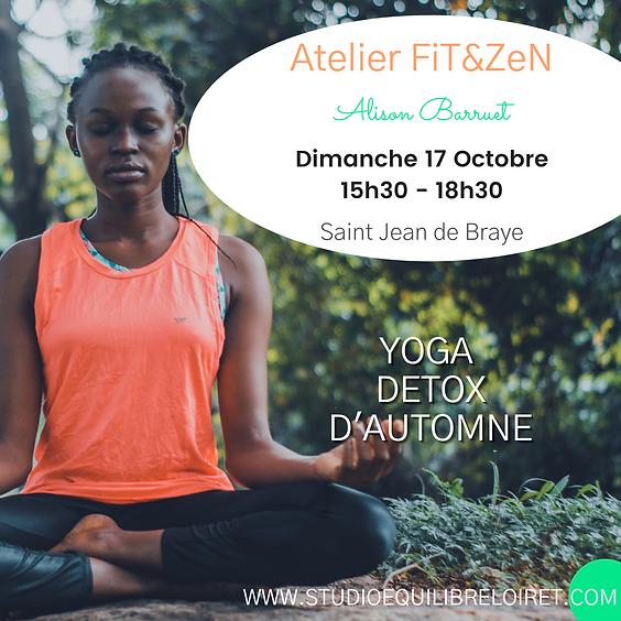 ATELIER FiT&ZeN - Yoga Détox d'Automne