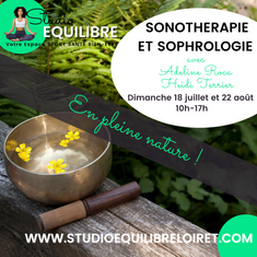Atelier Sonothérapie et Sophrologie