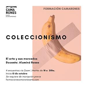 Flyer Coleccionismo - nueva fecha y hora