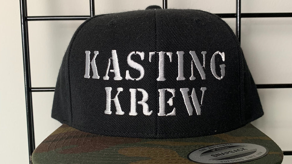 Kasting Krew Black/Camo SnapBack