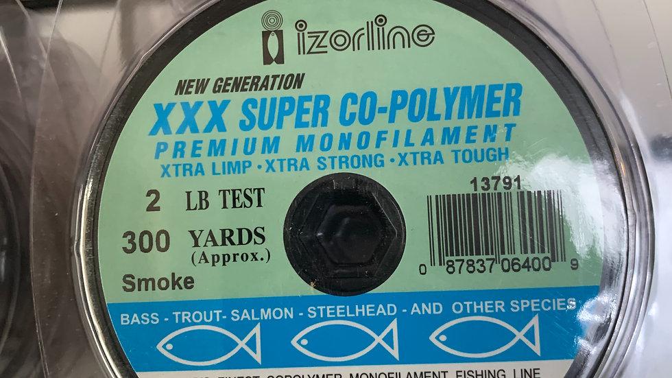 Izorline XXX Super Co-Polymer 300 yard spool