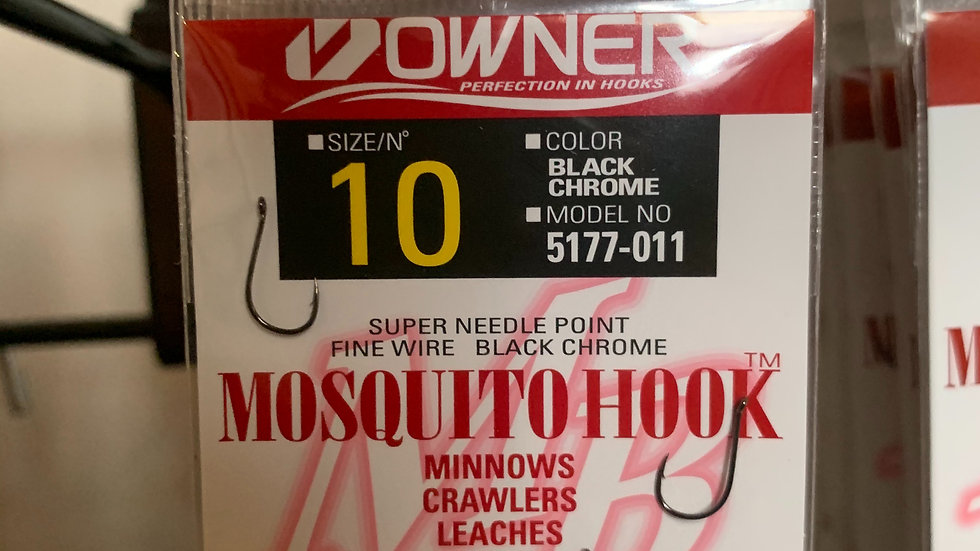 Owner Mosquito Hooks