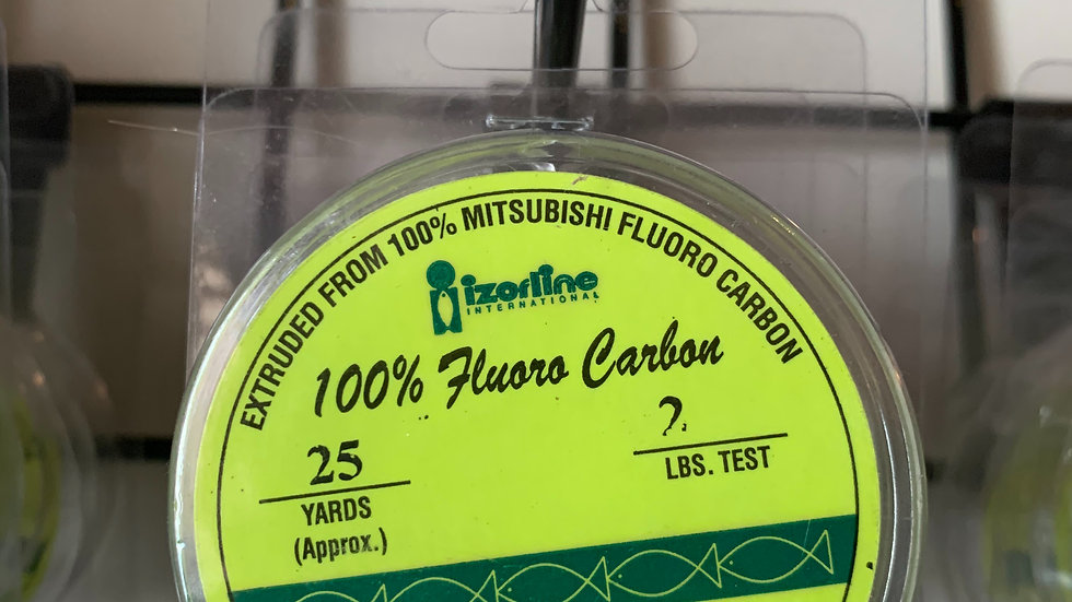 Izorline Fluorocarbon 25 yards leader line