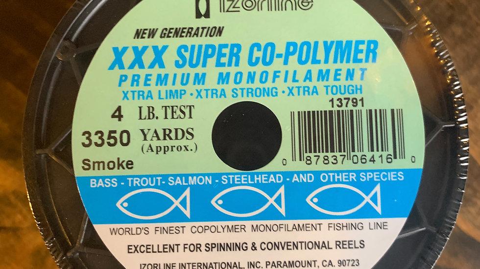 Izorline XXX Super Co-polymer 1/4 lb spool