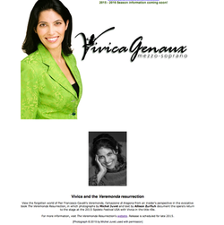 Vivica Genaux Website