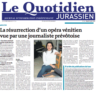 Quotidien Jurassien