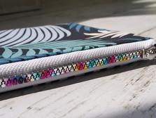 MAR rainbow zipper