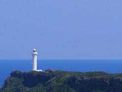 東平安名岬〜灯台