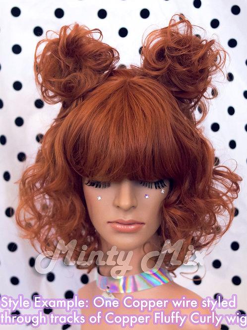 Solid Wire Wig