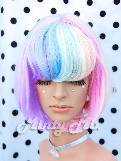 Rainbow Wig - Bob