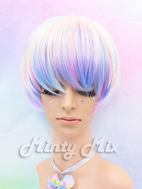 Rainbow Aura Wig - Fairy Sprite
