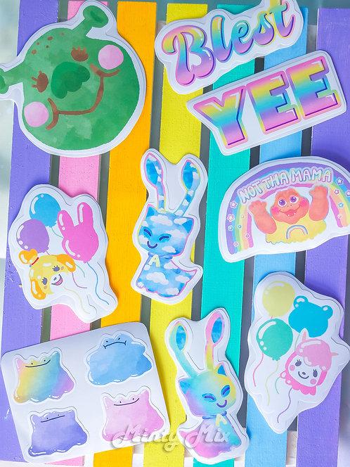 Happy Stickers