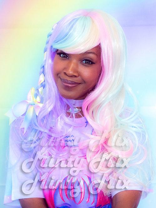 Rainbow Wig - Long