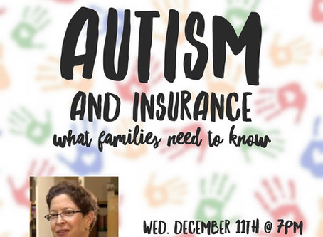 Workshop Offerings: Autism and Insurance