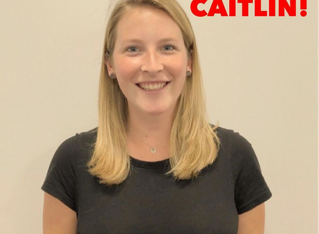 Welcome, Caitlin!