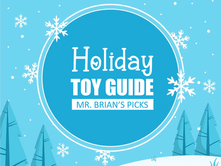 Holiday Toys with a Physical Therapy Twist