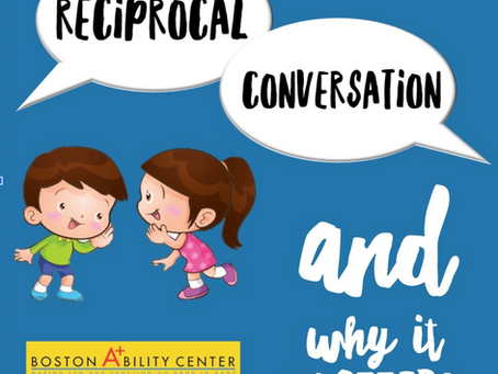 Why Reciprocal Conversation Matters