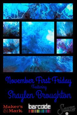 171101-01 - November Art Show Flyer