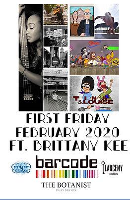 200107-01 - Febuary 2020 Art Show Flier.