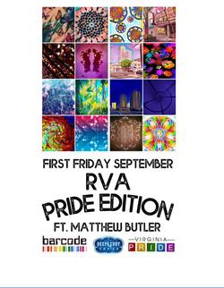 190903-01 - Pride 2019 Art show Flyer