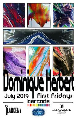 190627-01 - July 2019 Art Show Flyer