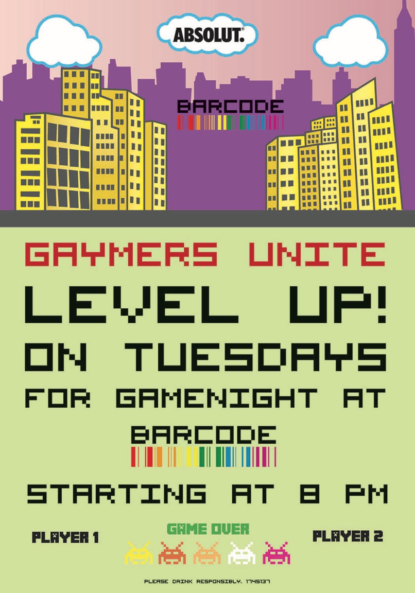 170222-01 Gaymer Night Flyer