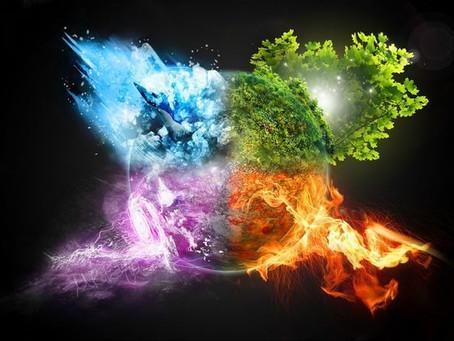 Os 4 Elementos da Natureza na Arteterapia