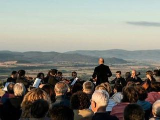 Concerto di musica classica all'alba a Ghiaccio Forte