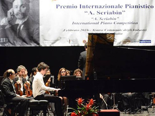 Concluso il Premio Internazionale Pianistico Scriabin