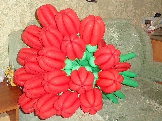 Букет тюльпанов (100см) (19шт)