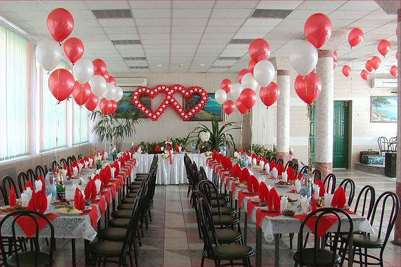 Оформление свадьбы №2