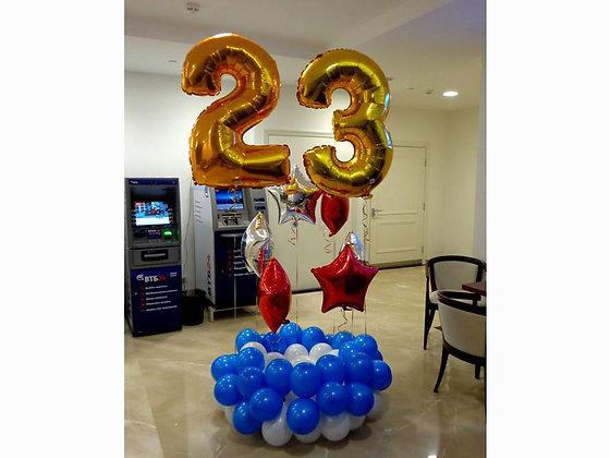 """""""23"""" на стойке + 6 звезд"""