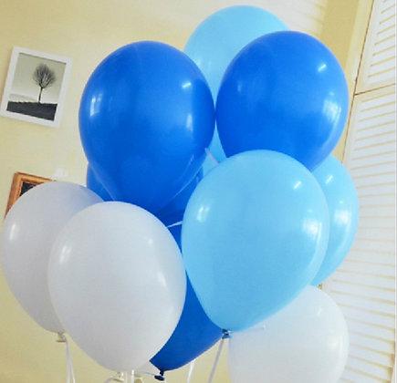 Облако бело/сине/голубое (10шт)