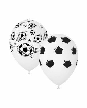 Облако шаров с футбольной тематикой (10шт)