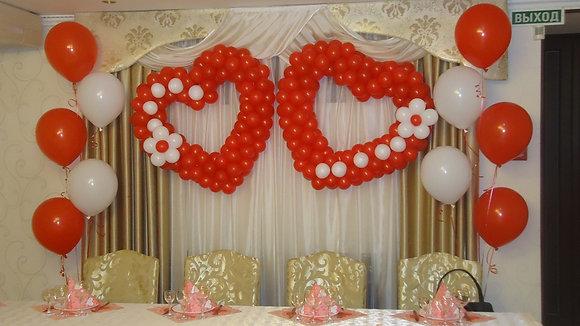 Оформление свадьбы №13
