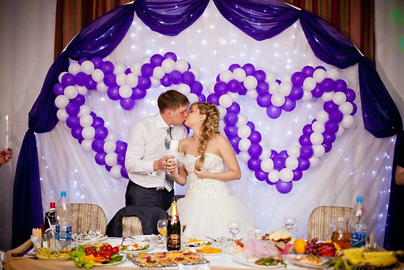 Оформление свадьбы №10