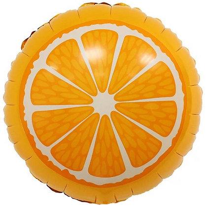 """Фольгированная фигура """"Апельсин"""" (45см)"""