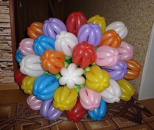 Букет тюльпанов (30шт) (90см)