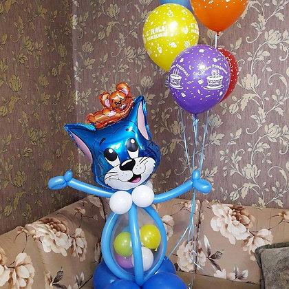 Кот Том с шарами